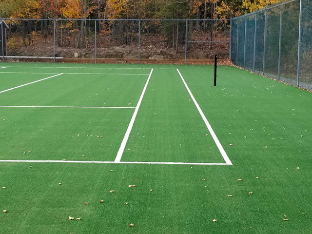 Photos de surface de terrain de tennis Québec, Ontario – TennTech